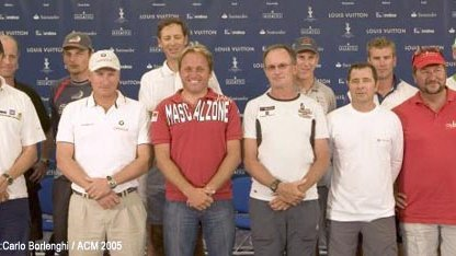 Trapani Louis Vuitton Acts 8&9 Skippers' Press Conference